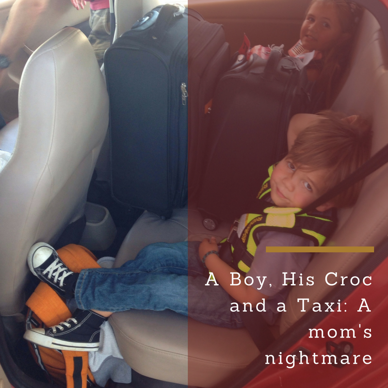 A Boy, His Croc and a Taxi- A mom's nightmare.png