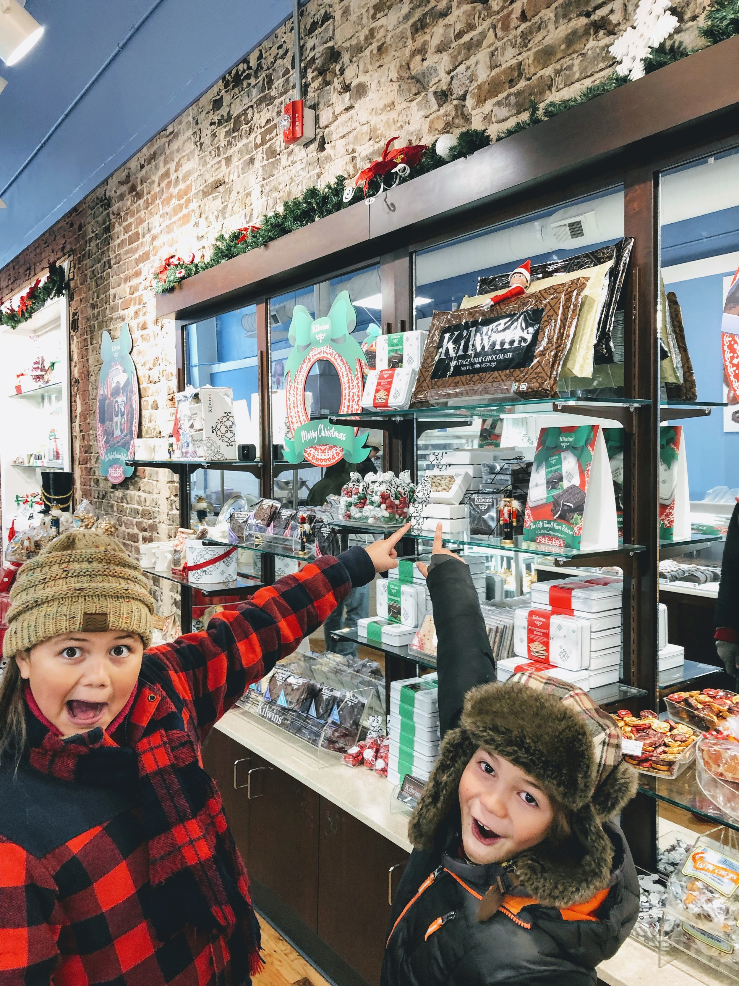 Things to do in Knoxville this Christmas, Kilwins