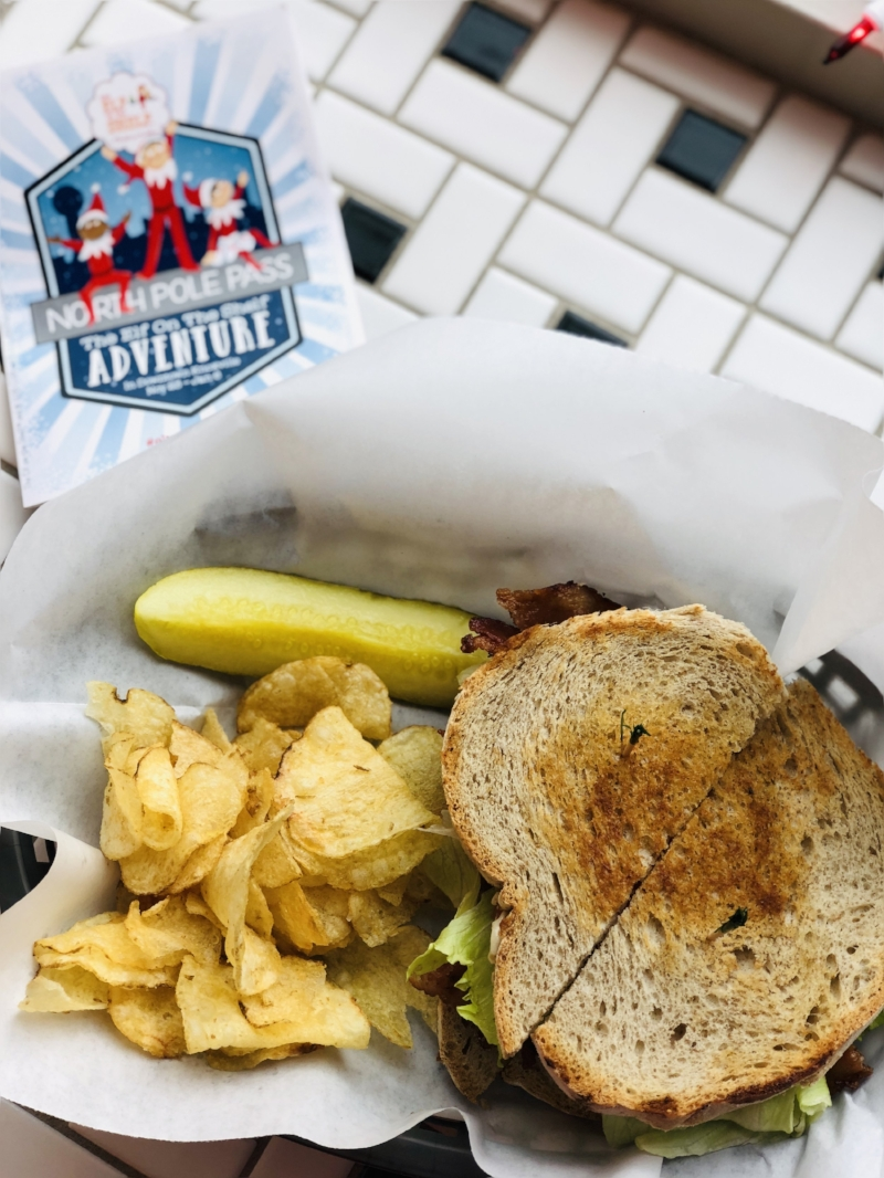 Things to do in Knoxville this Christmas, Frussies Deli, BLT via  Samantha Nelson Photography