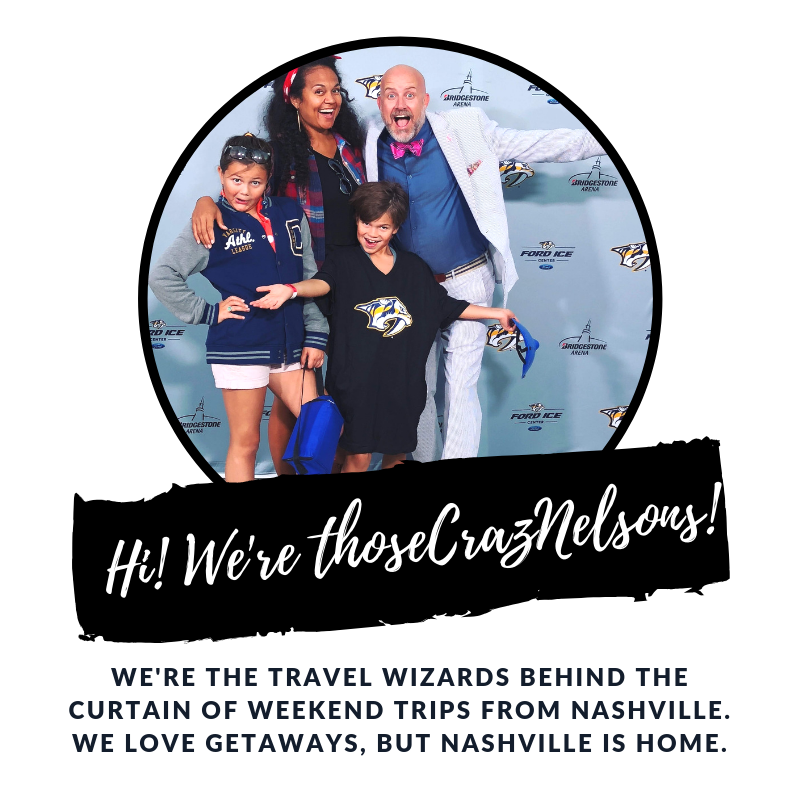 Weekend Trips Nashville Those Crazy Nelsons