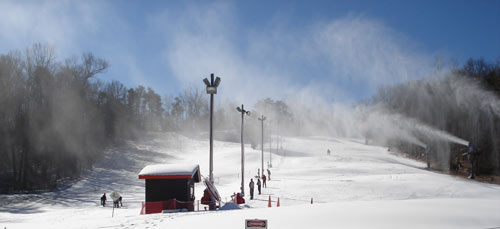 Photo via  Cloudmont Ski and Golf Resort , Mentone
