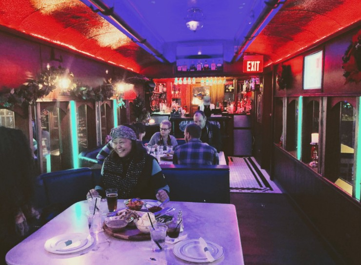 AM Booth's Lumberyard, Dinner on a train, Huntsville, Al Things to do via Weekend Trips from Nashville