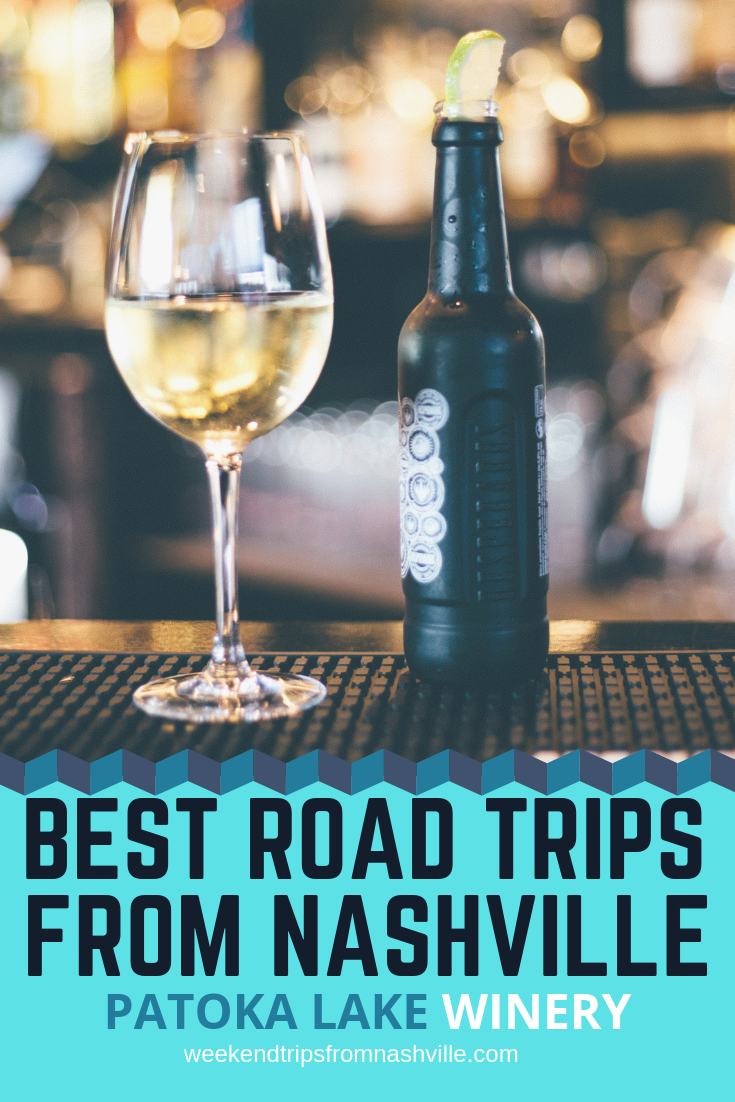 Pin this for later! Best Weekend Road Trips from Nashville: Patoka Lake Winery via WeekendTripsFromNashville.com