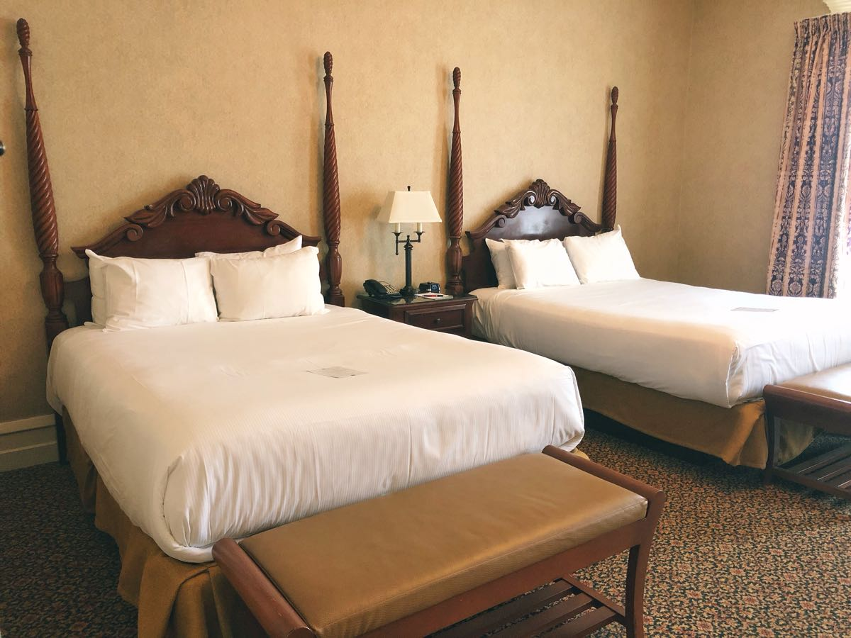 French Lick Springs Hotel, A peek inside a guest room