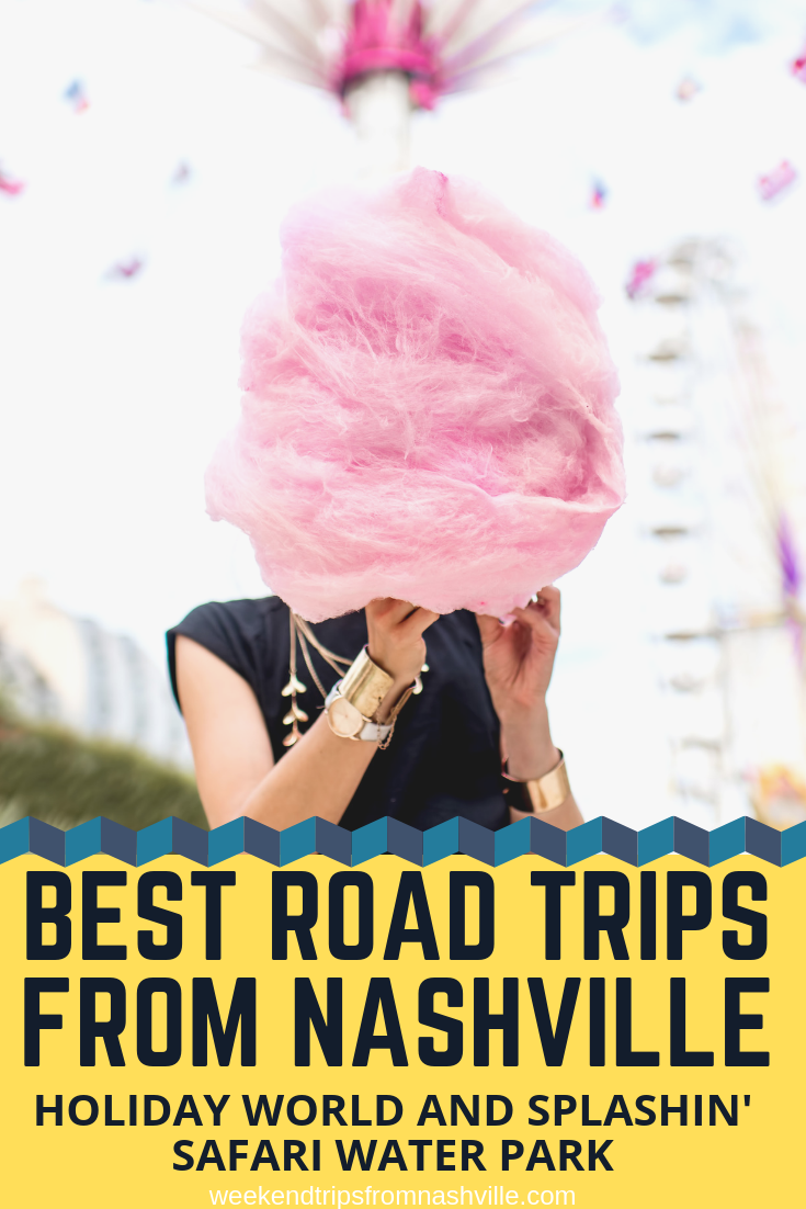 Pin this for later! Best Weekend Road Trips from Nashville: Holiday World and Splashin' Safari via WeekendTripsFromNashville.com