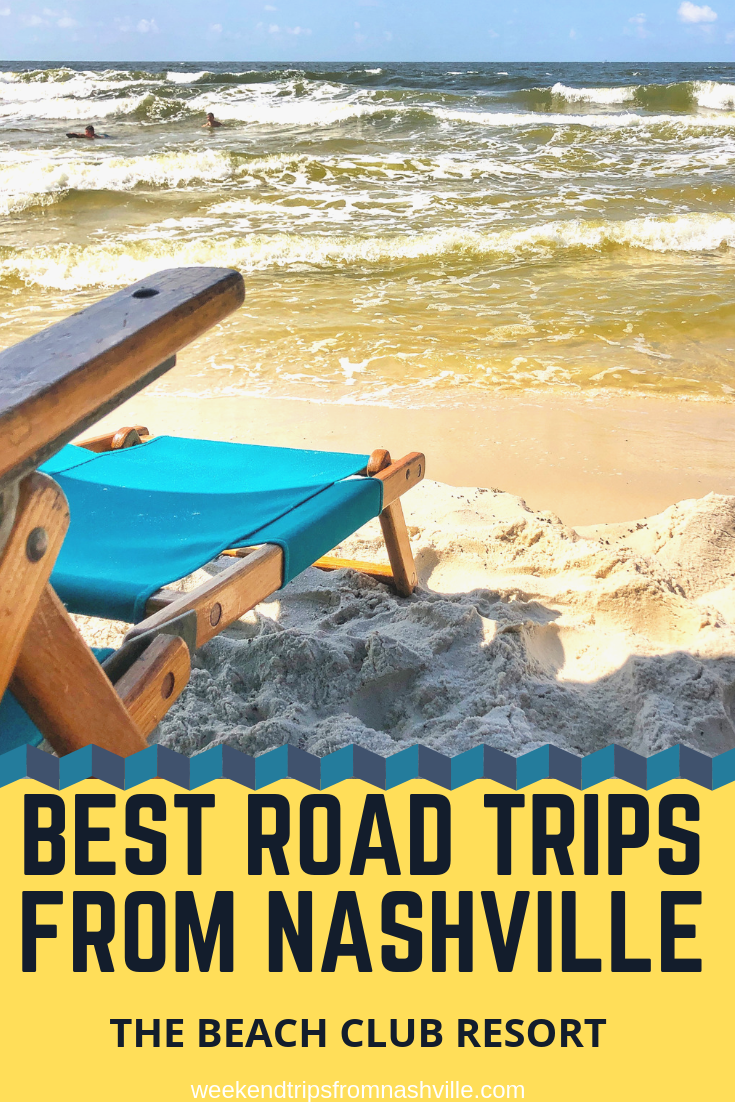 Pin this for later! Best Weekend Road Trips from Nashville: The Beach Club Resort in Gulf Shores via WeekendTripsFromNashville.com