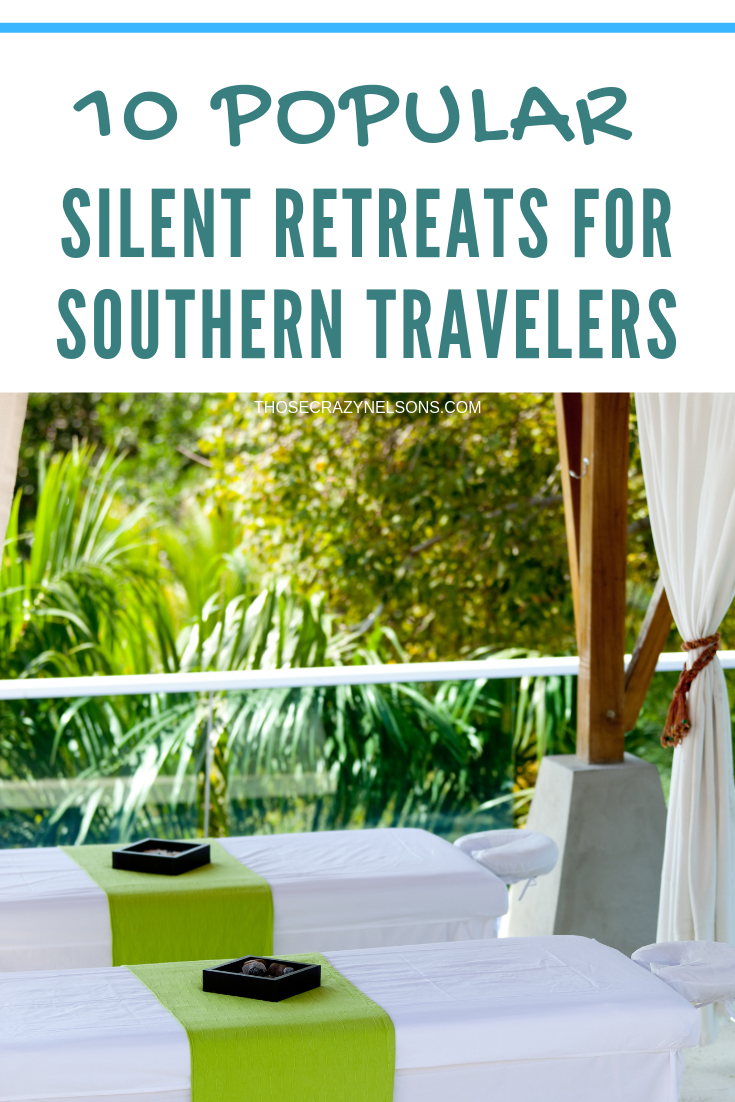 Disconnect at one of these 10 popular silent retreats in the South via thosecrazynelsons.com