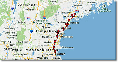 Source:  New England Travel Planner