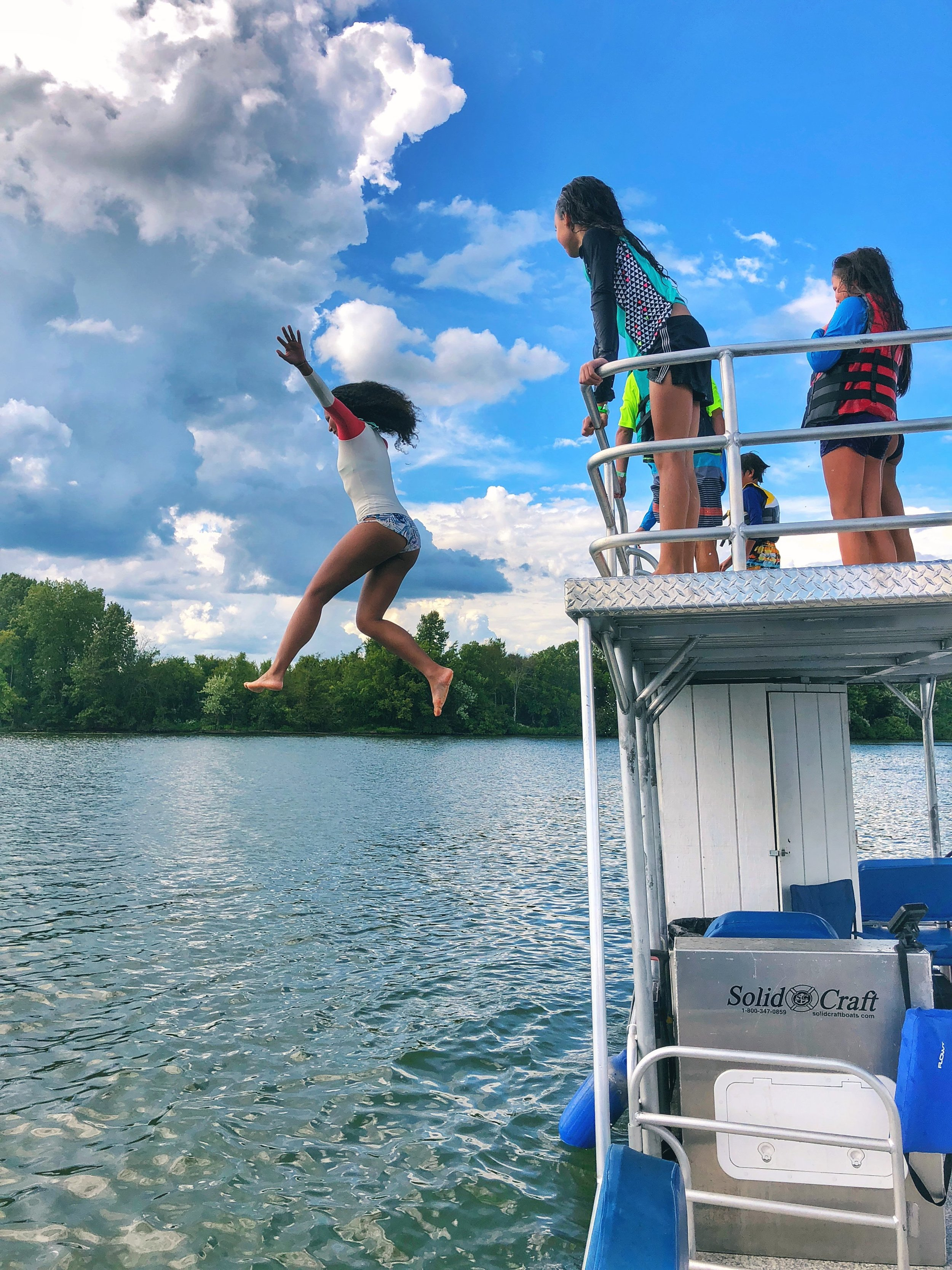 Rent a pontoon boat on Old Hickory Lake at Blue Turtle Bay Marina.