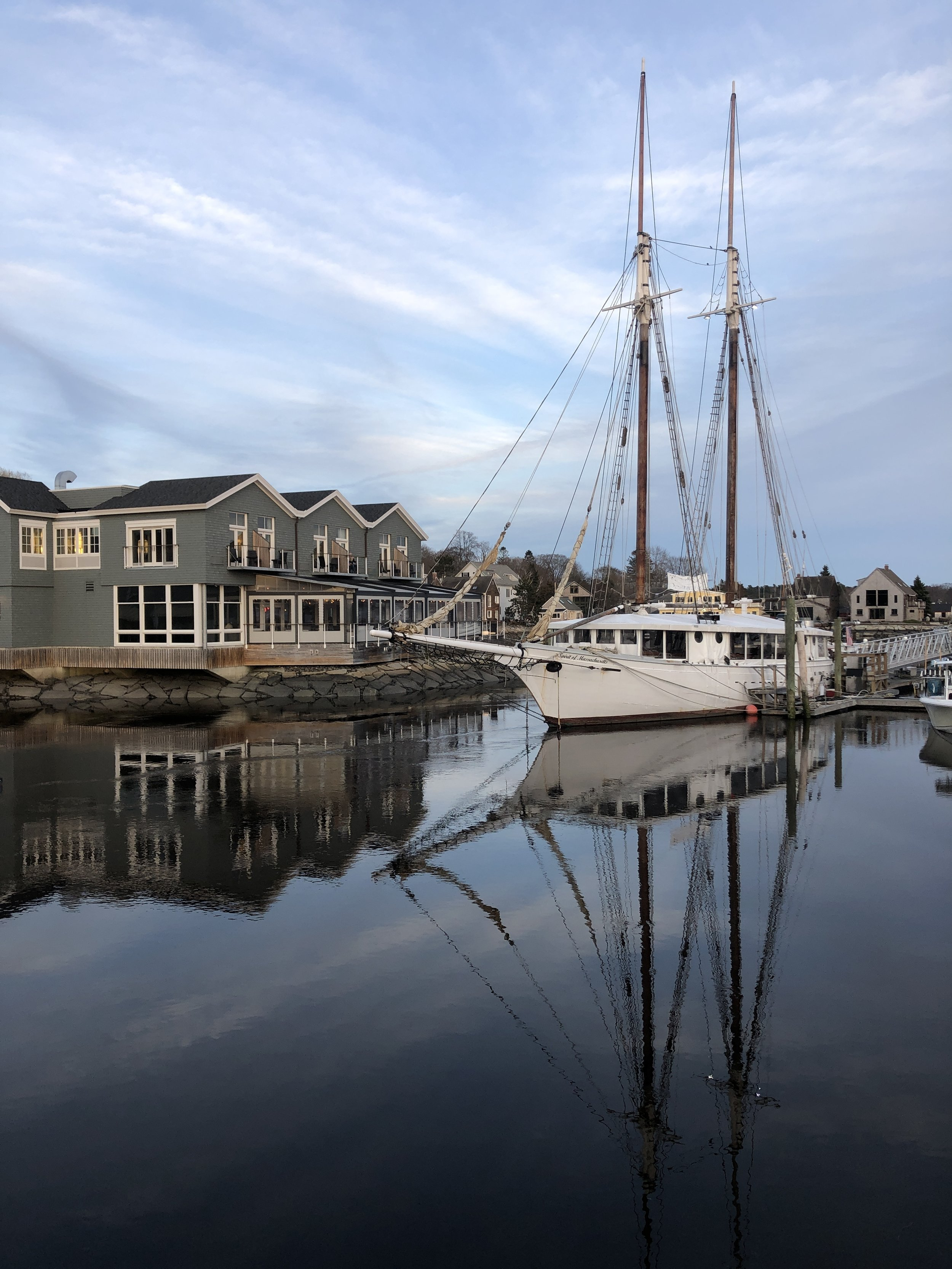 See Maine by train in 4 nights, Boathouse Restaurant, Kennebunkport