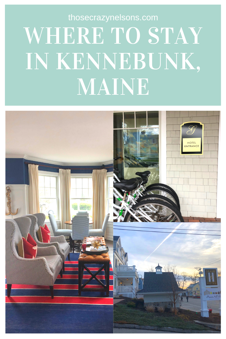 See Maine by train in 4 nights, where to stay in the Kennebunk area