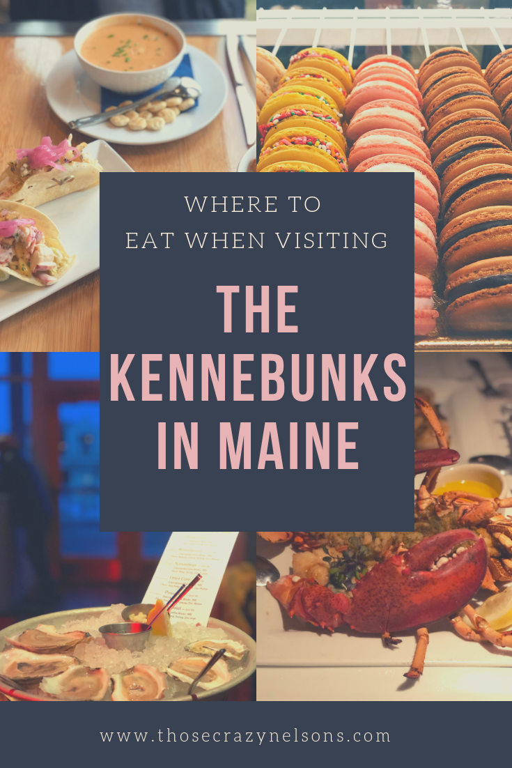 See Maine by train in 4 nights, Kennebunk and Kennebunkport restaurants