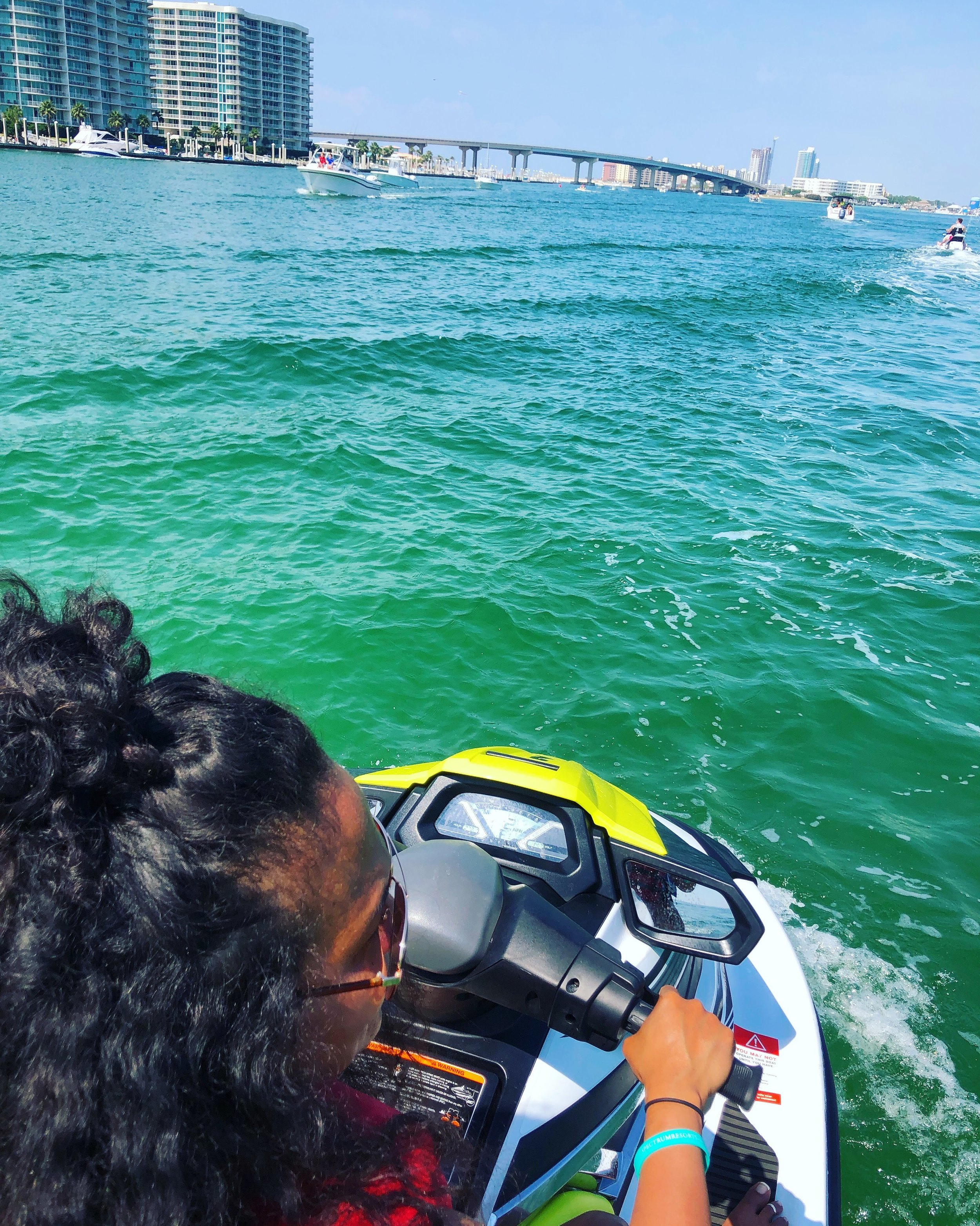 Schedule your beach activities before you head down! We did this jet ski rental by  booking here …and fuel was included!