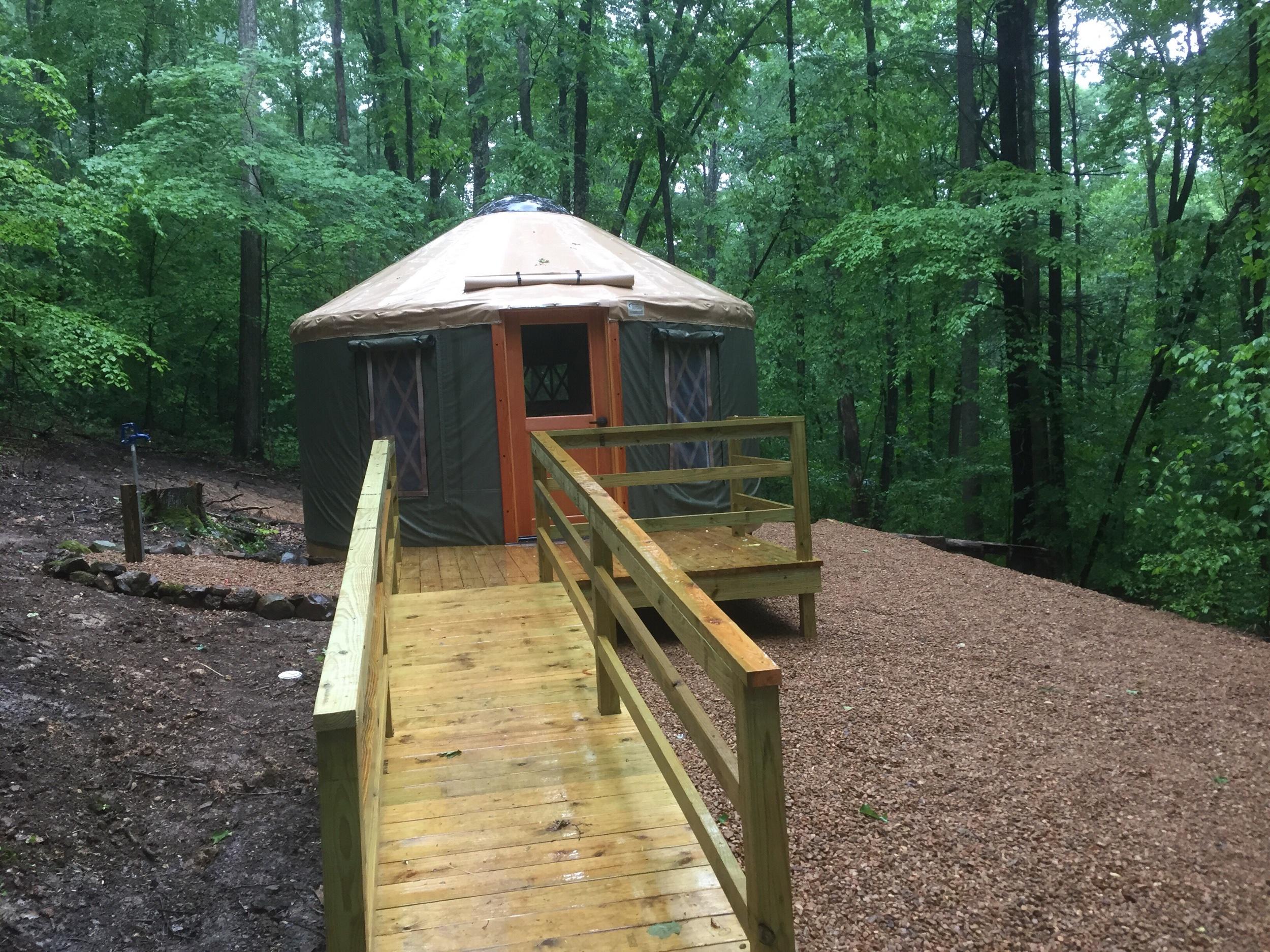 Yurt, Breaks Interstate Park, VA