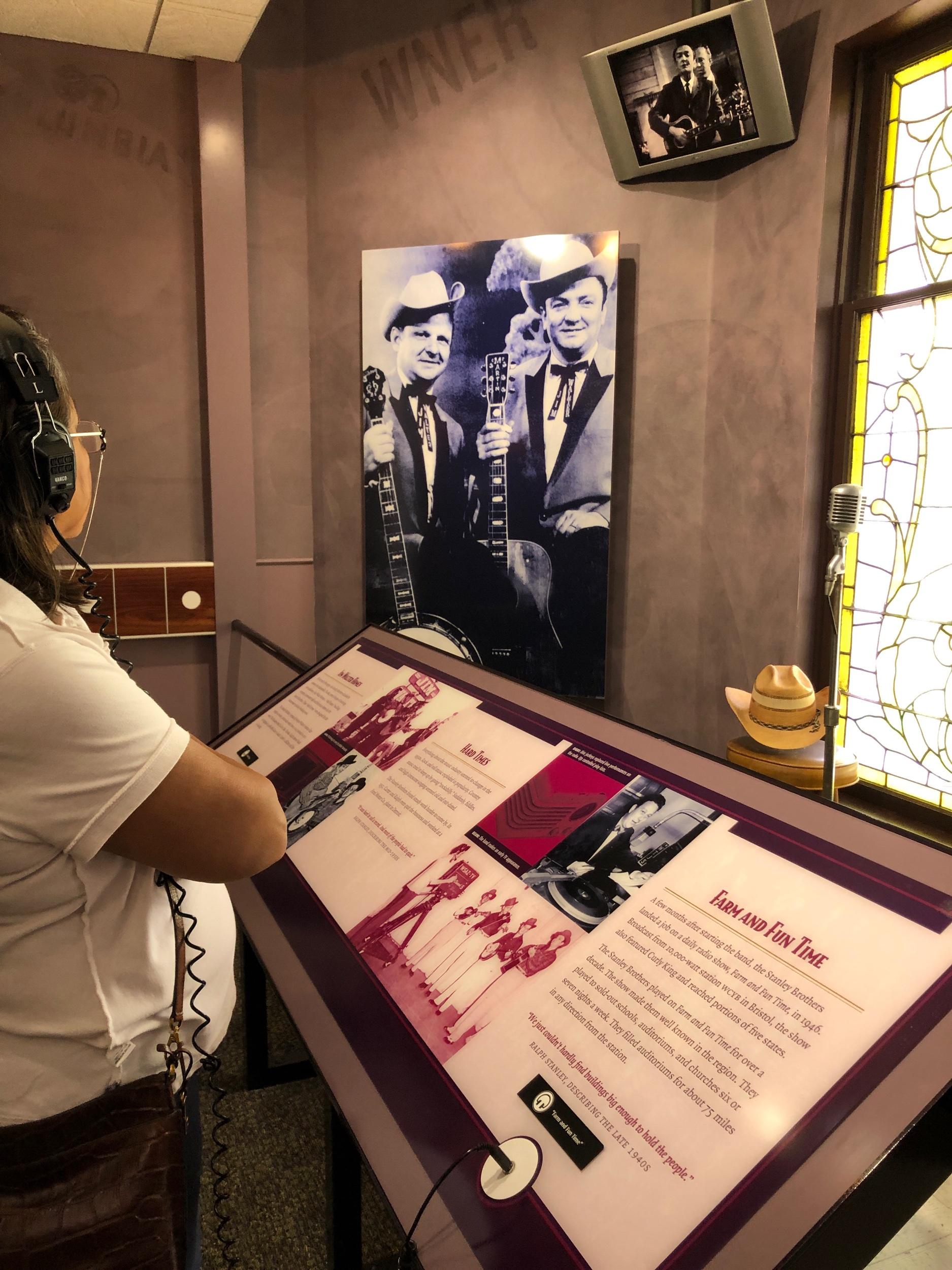 Ralph Stanley Museum, Clintwood, VA
