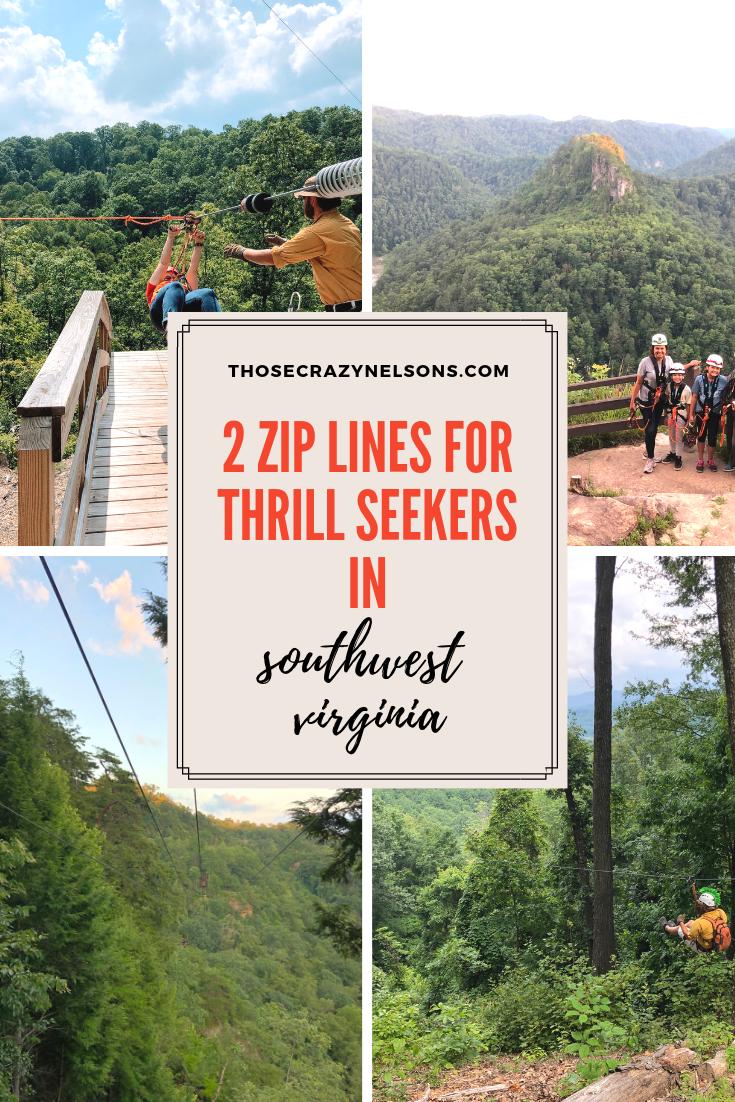 2 zip lines you shouldn't miss in Southwest Virginia