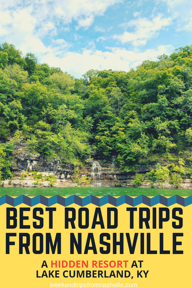 Pin this for later! Best #WeekendRoadTrips from Nashville: Woodson Bend Resort in #Kentucky