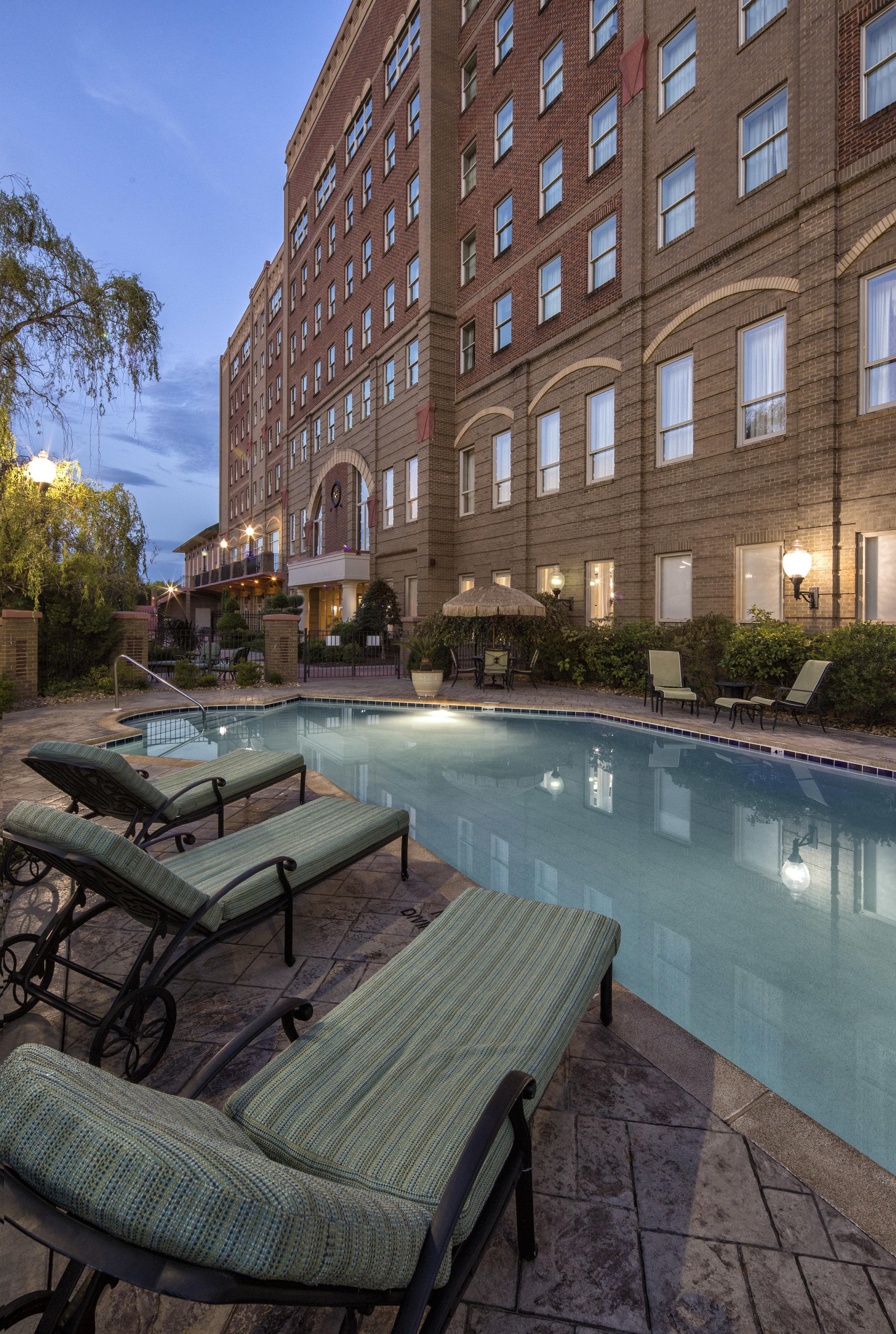 Saltwater pool, Carnegie Hotel and Spa