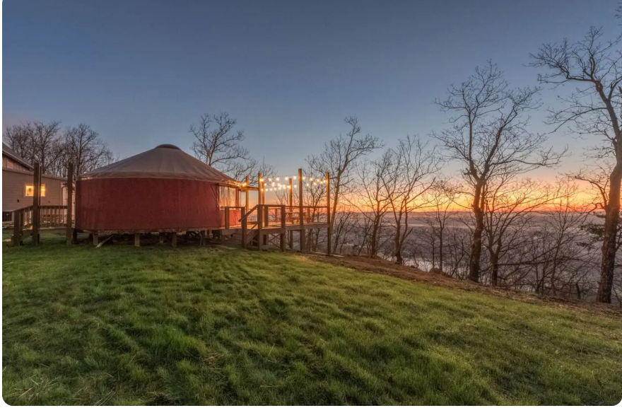 One of 5 cool Airbnb stays near Nashville