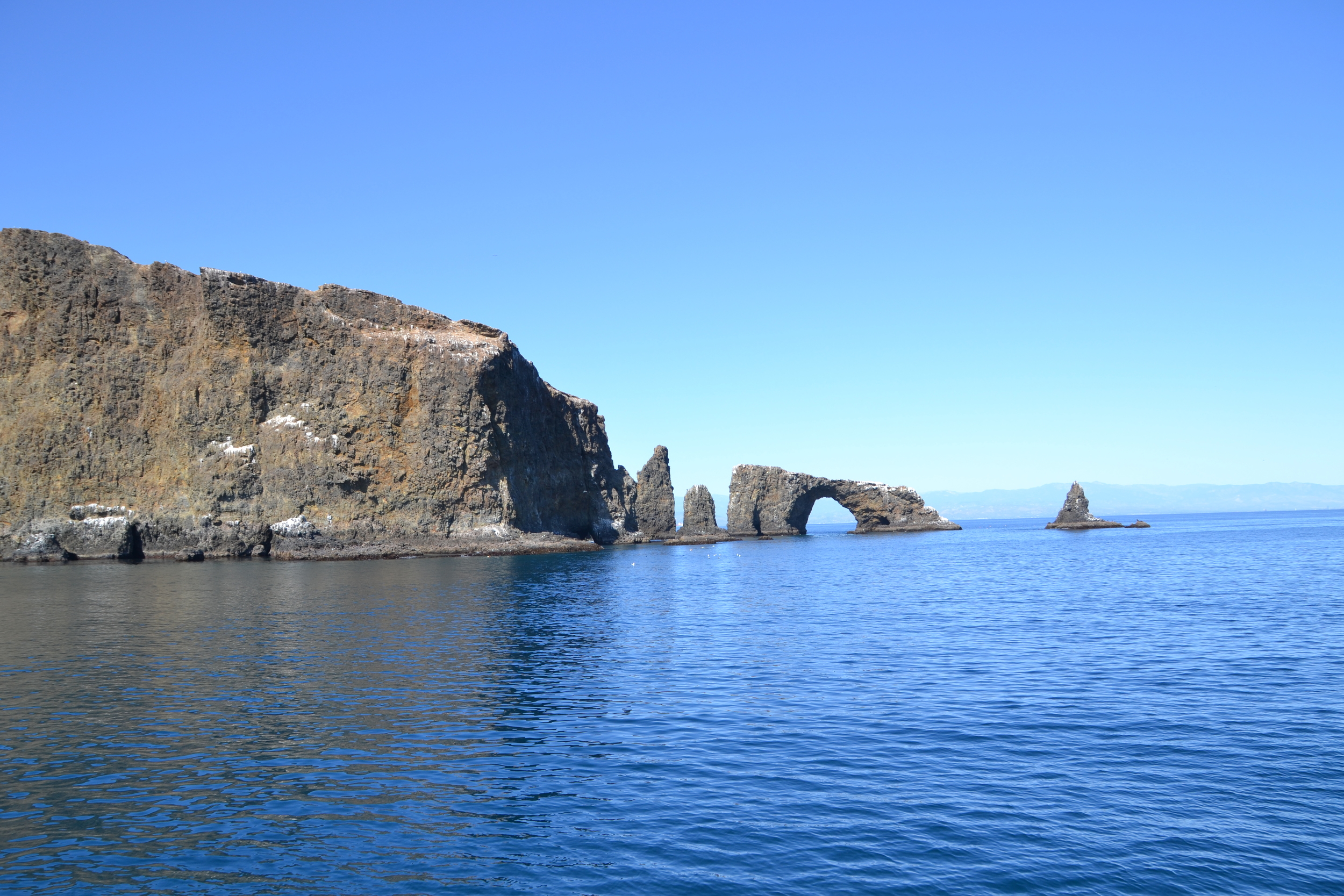 The Arch Rock at Anacapa Island, Channel Islands National Park