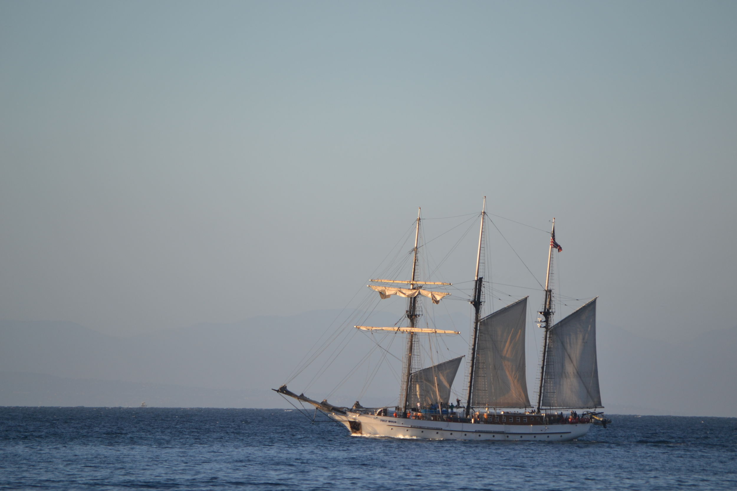 The Tall Ship Tole Mour, Channel Islands