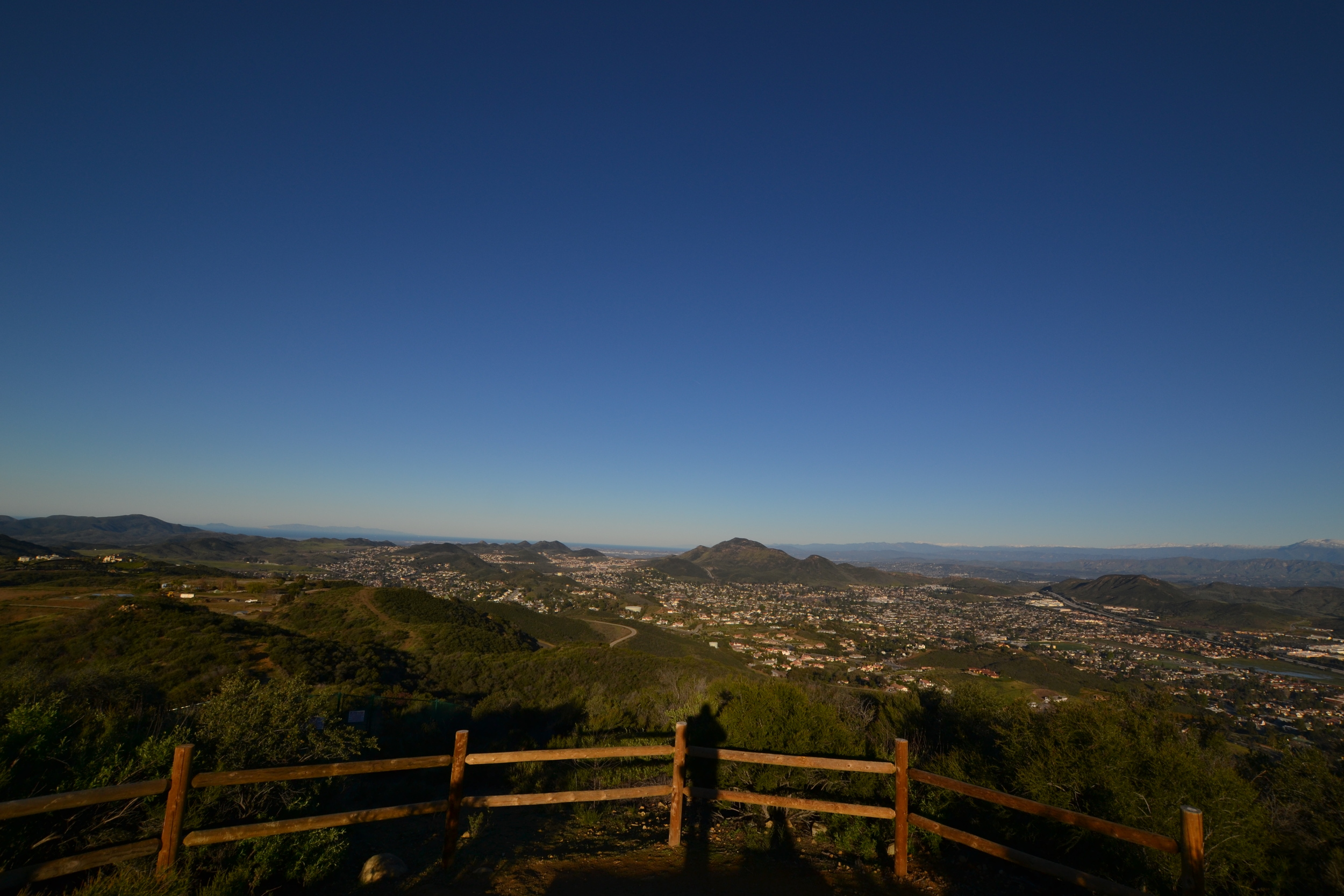 View of Newbury Park from the Conejo Loop Trail, Thousand Oaks
