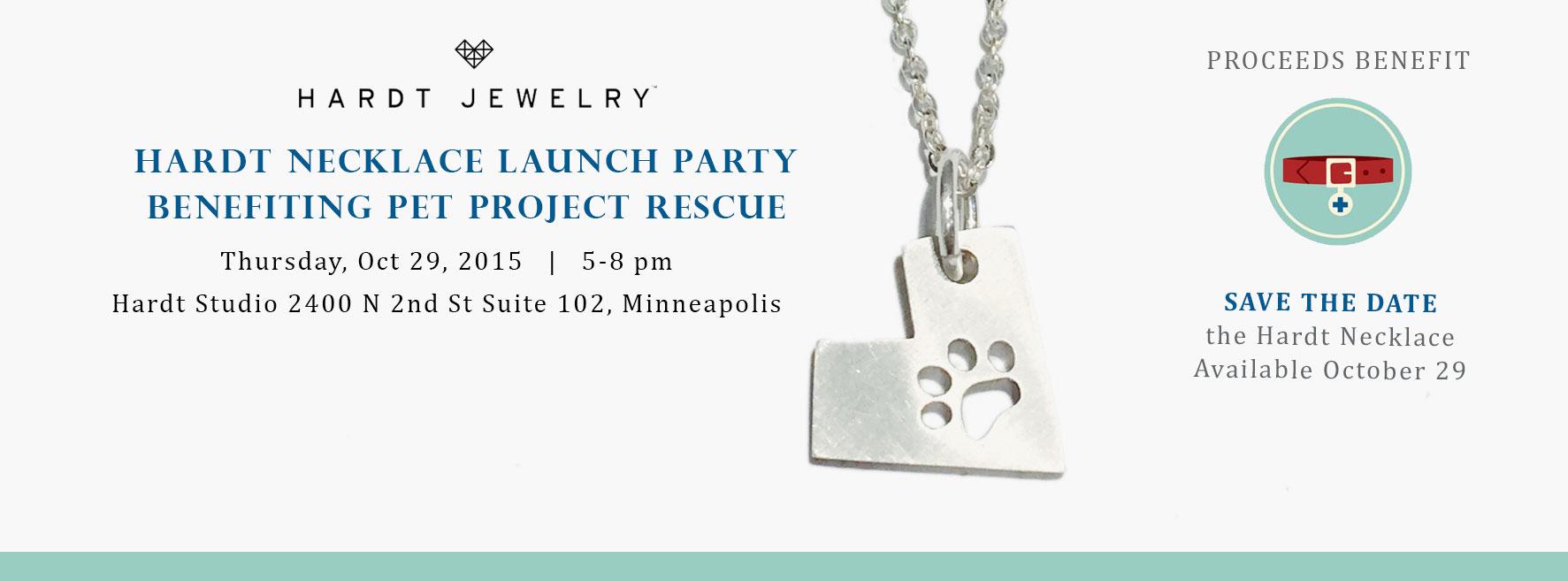 Hardt Prints Necklace Launch Party, Pet Project Rescue