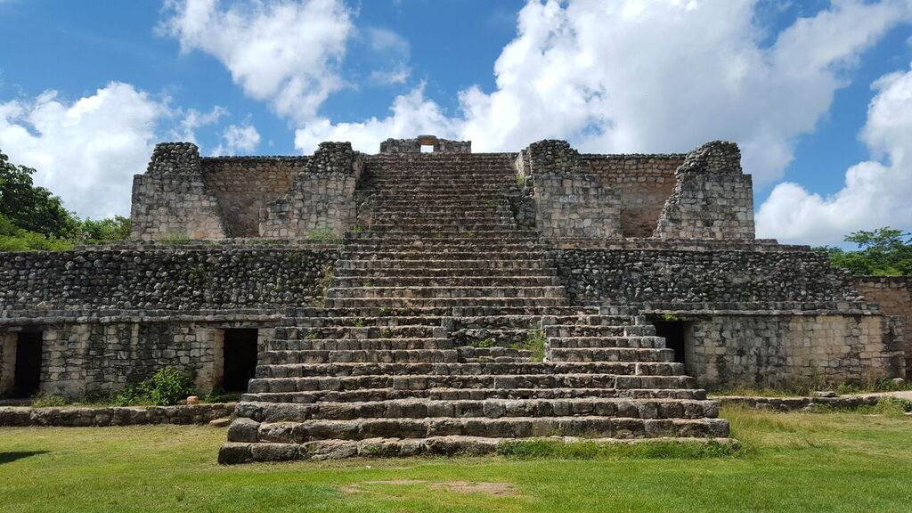 Ek' Balam (Mayan for Black Jaguar) is the perfect archaeological site for those looking to escape the crowds of Chichén Itzá, Tulum and Coba. The ruins are beautiful and well preserved because the excavation did not begin until the late 1990's when the site was unearthed from the surrounding jungle.