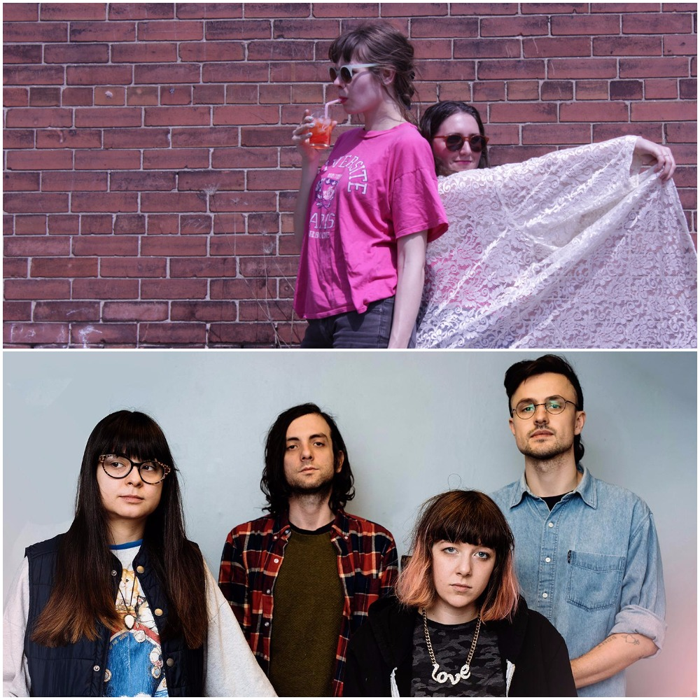 Dilly Dally Photo:  Mike Massaro  / Cupcake Ductape Photo:  Bandcamp