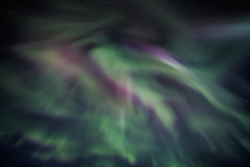 Aurora Display, Iceland