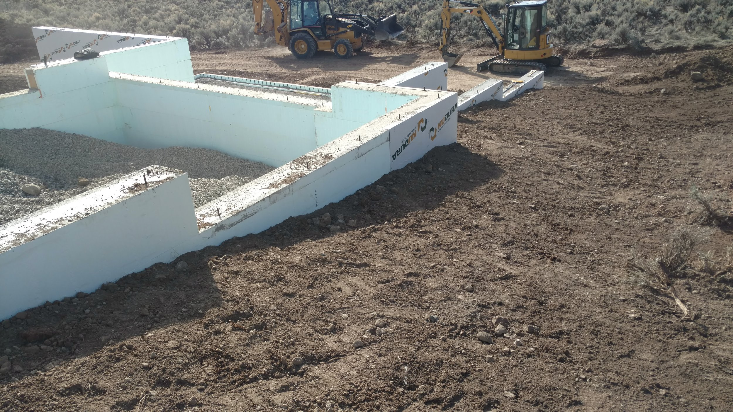 March 17 - Foundation Backfill