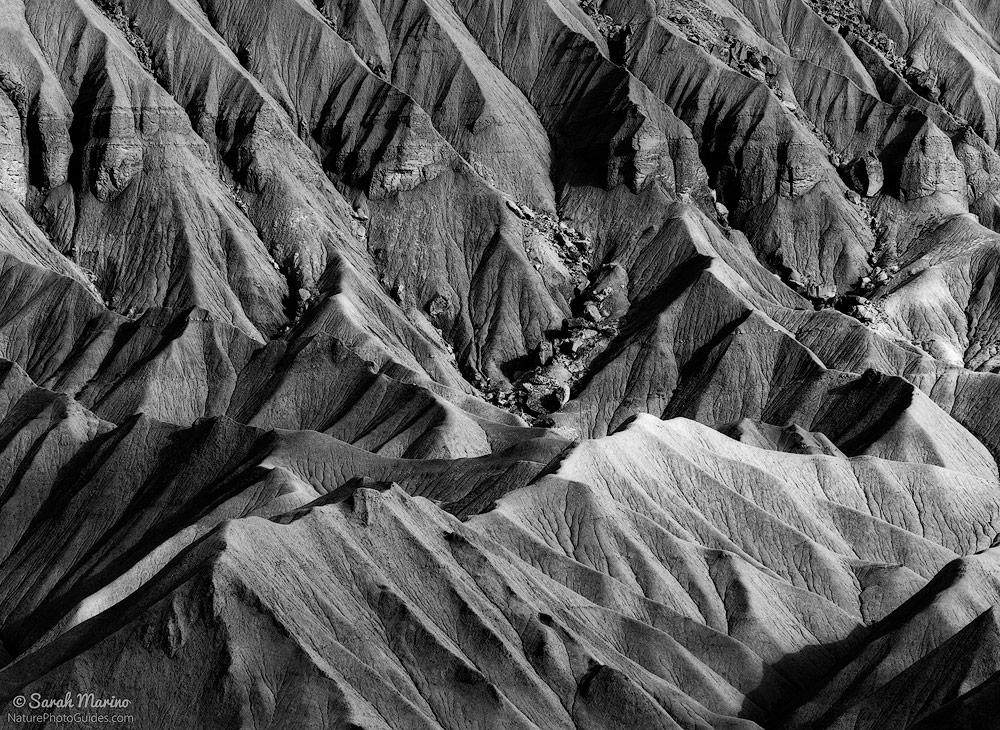 Rugged badlands in Utah.