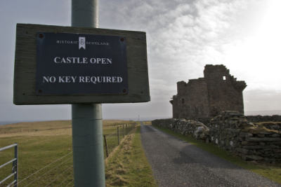 No, I am not the northernmost   castle   in the British Isles. I do like being its namesake though. ;)
