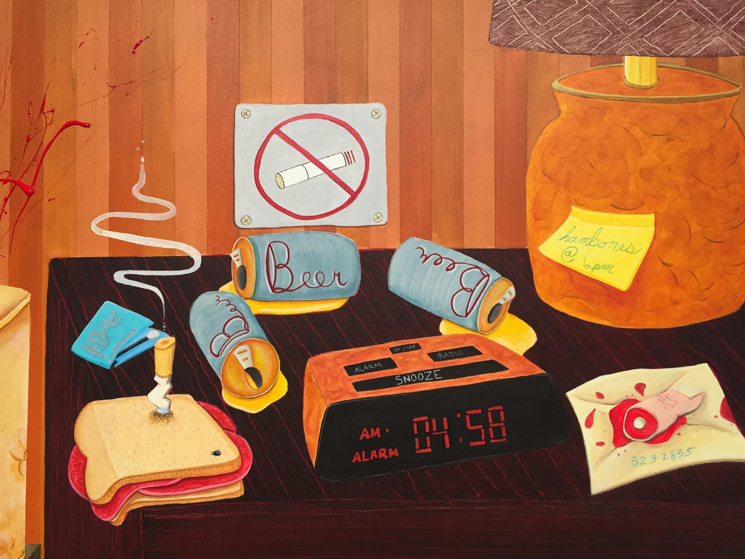 5a.m. wake up call