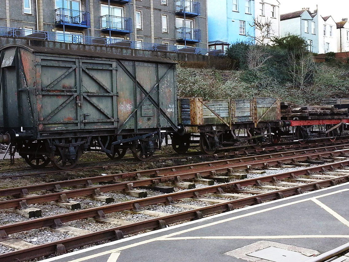 Disused Section of Bristol Harbour Railway, Spike Island., Copyright  © Coffinjune