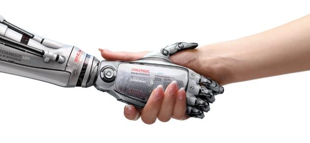 (사진) 로봇과 인간