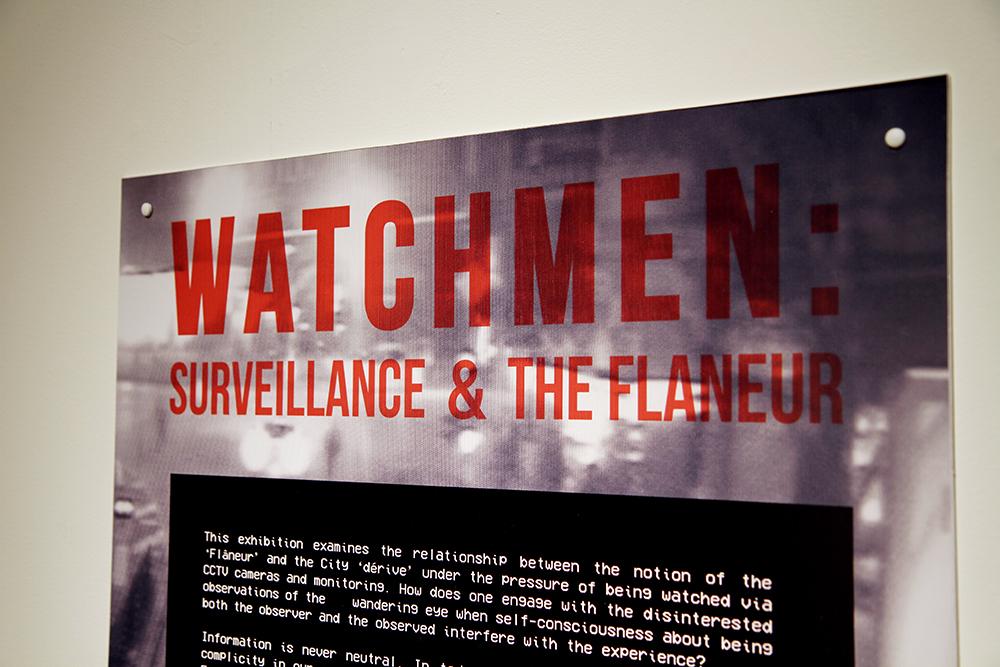 Watchmen: Surveillance and the Flaneur Exhibition view