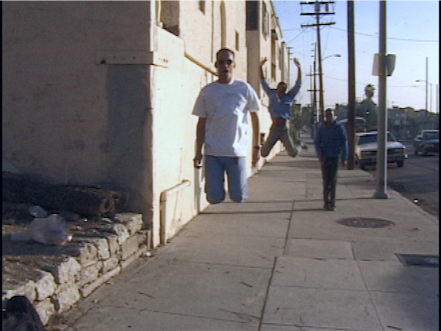 Dane Picard  Virgil Avenue Walk  1996 Standard Definition Video 38 seconds Dimension variable Courtesy of the Artist