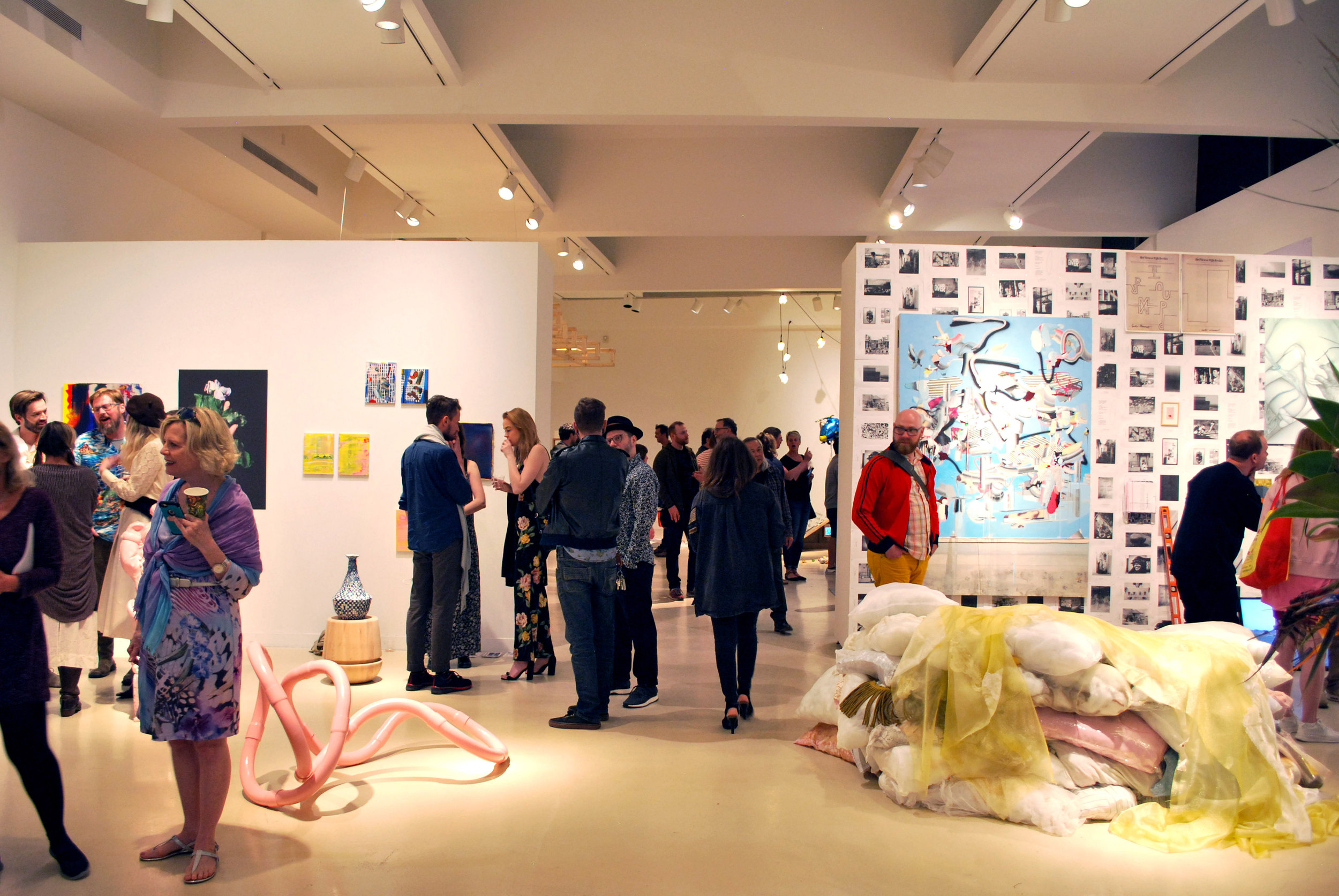 Opening Reception for CO/LAB 4 & Spring Exhibitions