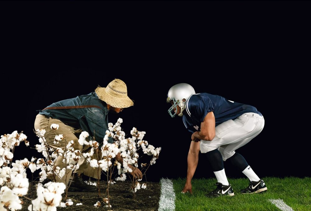 The Cotton Bowl, from the series Strange Fruit, 2011. Digital c-print
