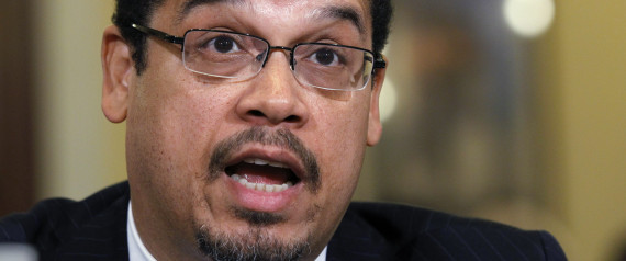Rep. Keith Ellison, D-Minn., one of only two Muslim's in Congress, testifies before the House Homeland Security Committee on the extent of the radicalization of American Muslims, on Capitol Hill in Washington, Thursday, March 10, 2011. (AP Photo/Alex Brandon) | ASSOCIATED PRESS