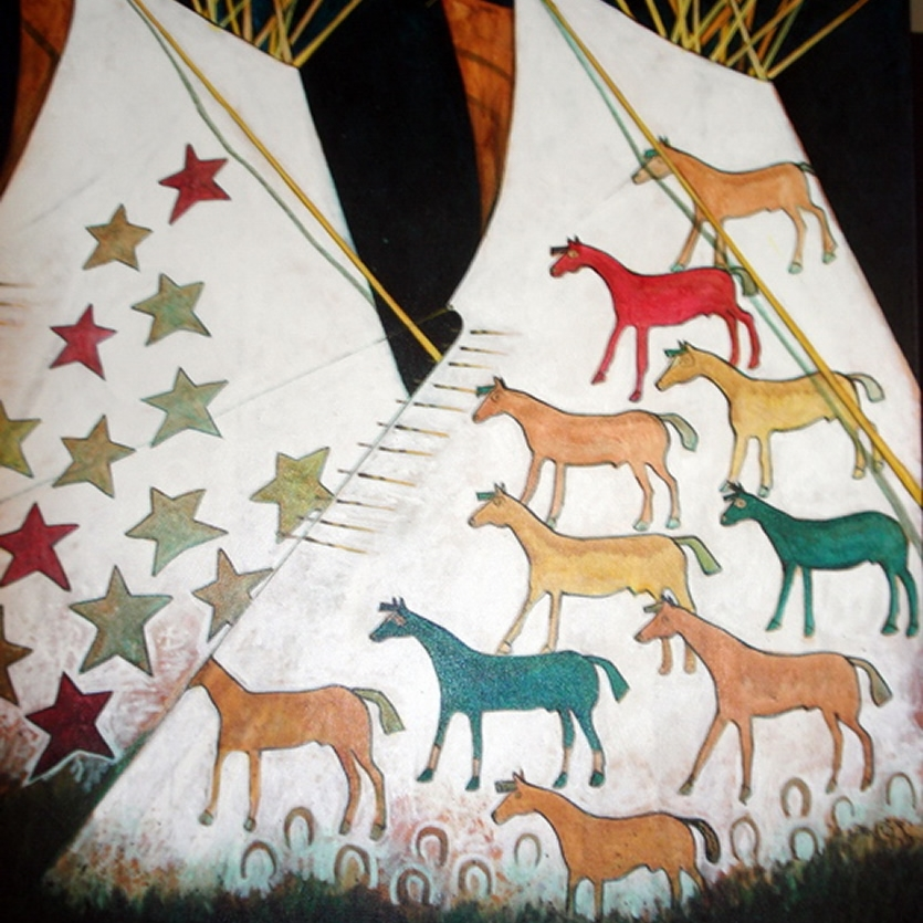 Kevin Red Star  Crow Tipi Lodges