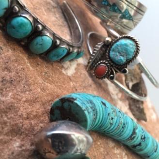 turquoise jewelry modern west fine art