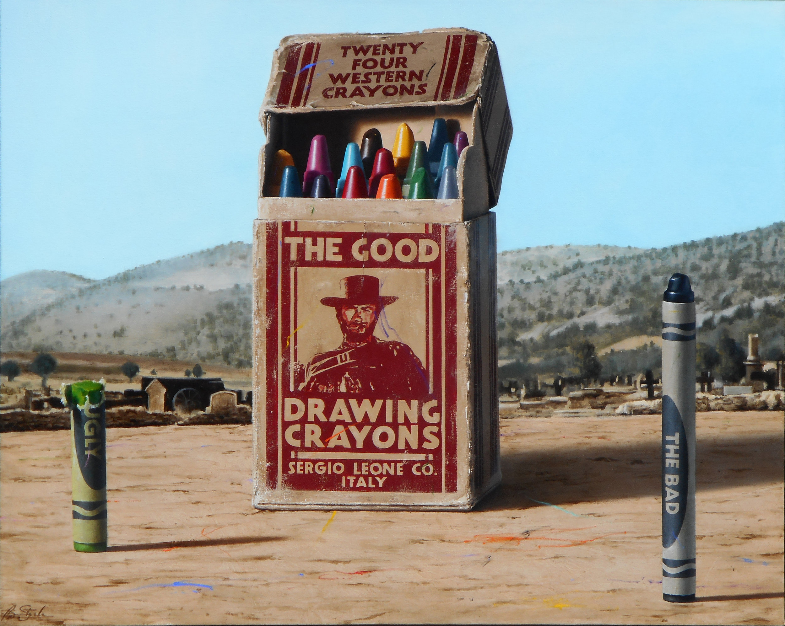 Ben Steele Modern West Artist Interview The good the bad the ugly