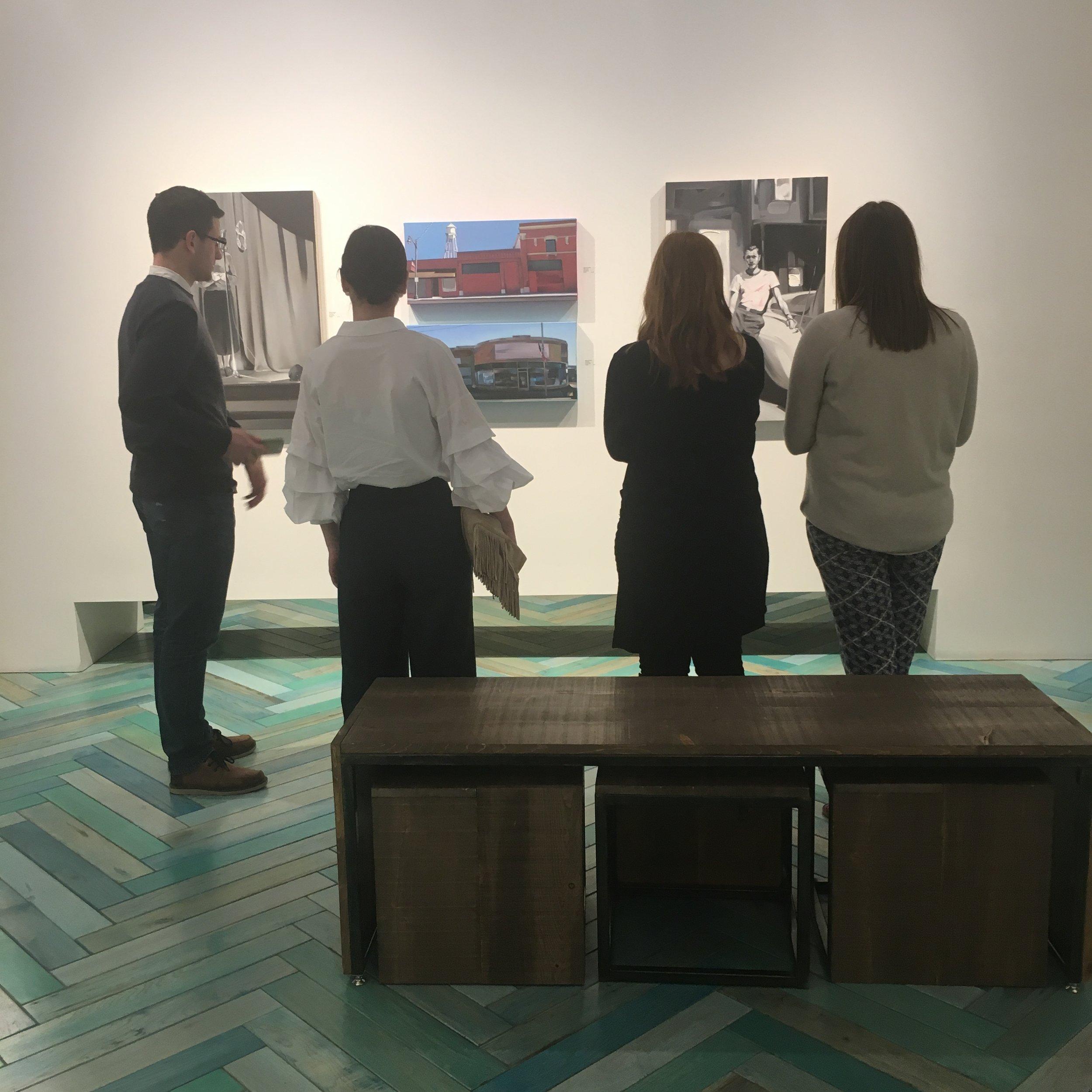 Rebecca Campbell opening modern west fine art