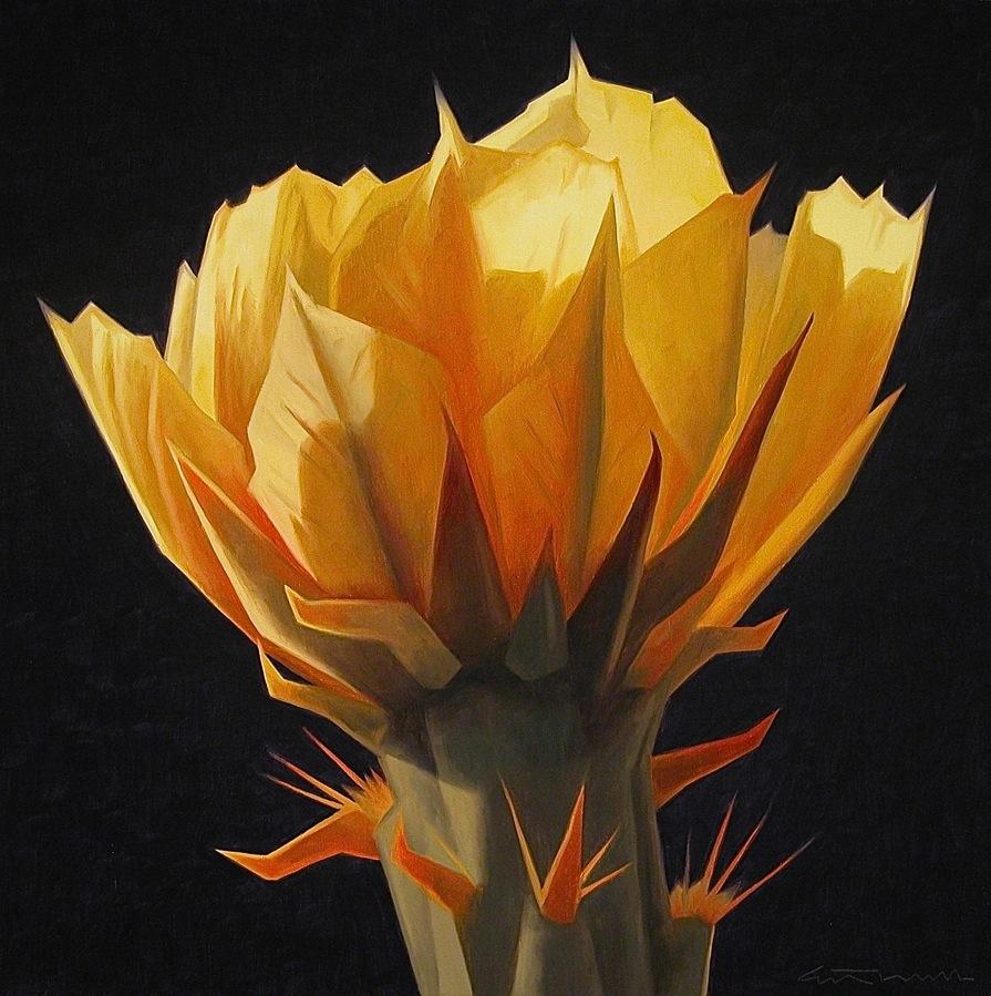 06_Ed+Mell_Unfolding+Desert+Bloom_oil+on+linen_24x24.jpg