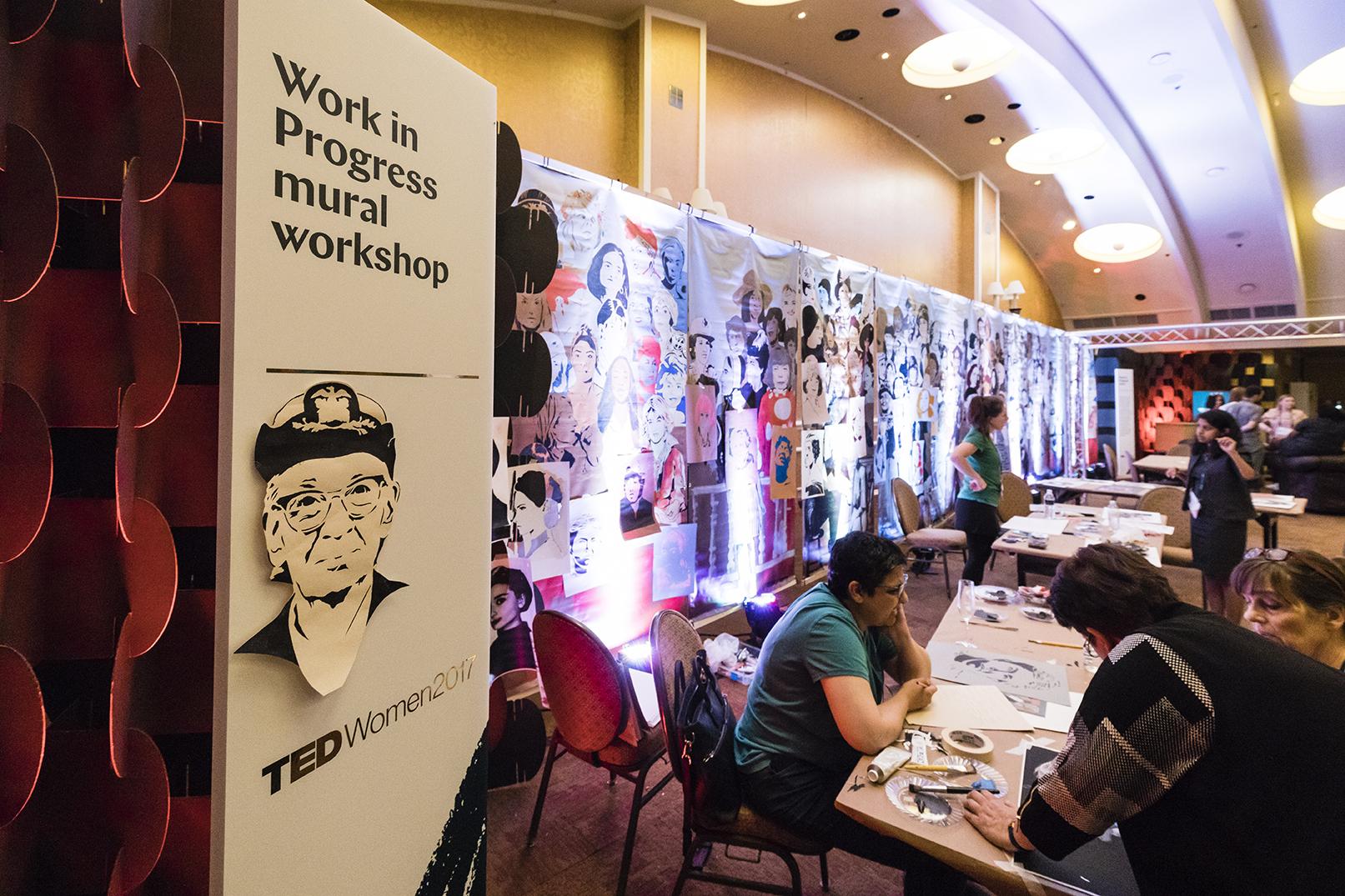 work in progress ted talk tedtalk woman women work in progress modern west fine art