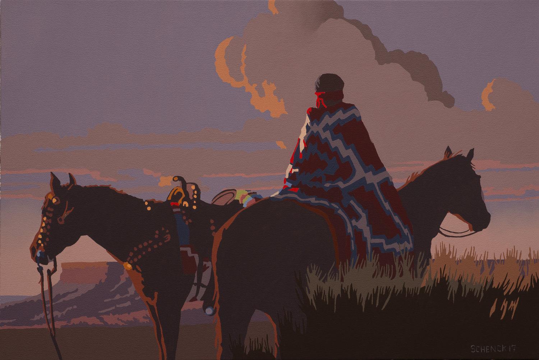 58_Billy+Schenck_Dusk+at+Cedar+Mesa_oil+on+canvas_20x30in.jpg