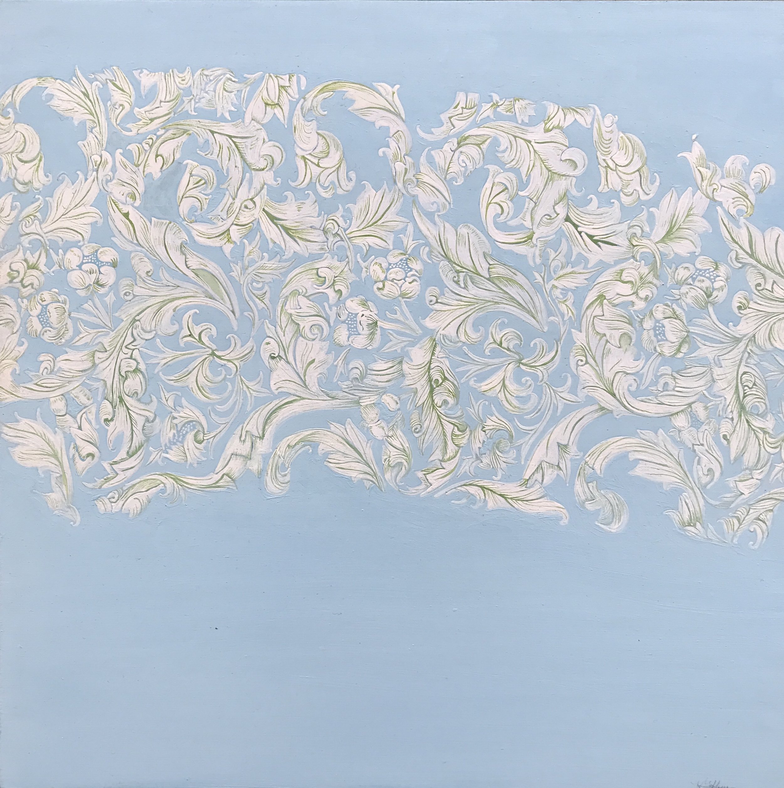 04_Kiki Gaffney_Blue Arch_oil and graphite on wood panels_12x24in.jpg