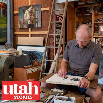 Utah Stories Natha Florence Modern West Fine Art